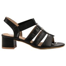 Evento schwarz Slip-On High Heels