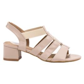 Evento braun Slip-On High Heels