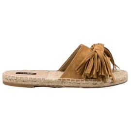 Braun Flip Flops VICES