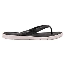 Seastar schwarz Gummi-Flip-Flops