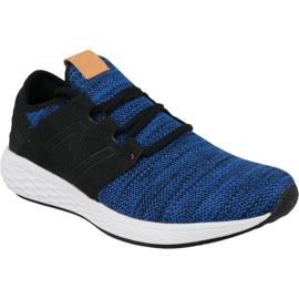 Laufschuhe New Balance Fresh Schaum Cruz v2 M MCRUZKR2 blau