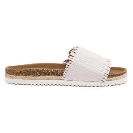 Weiß Flip Flops VICES