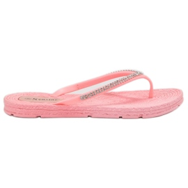 Seastar pink Flipflops mit Zirkonen