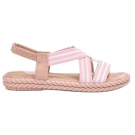 Seastar pink Bequeme Damen Sandalen
