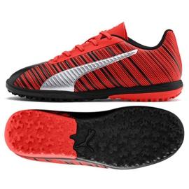 Fußballschuhe Puma One 5.4 Tt Jr. 105662 01 rot schwarz, rot