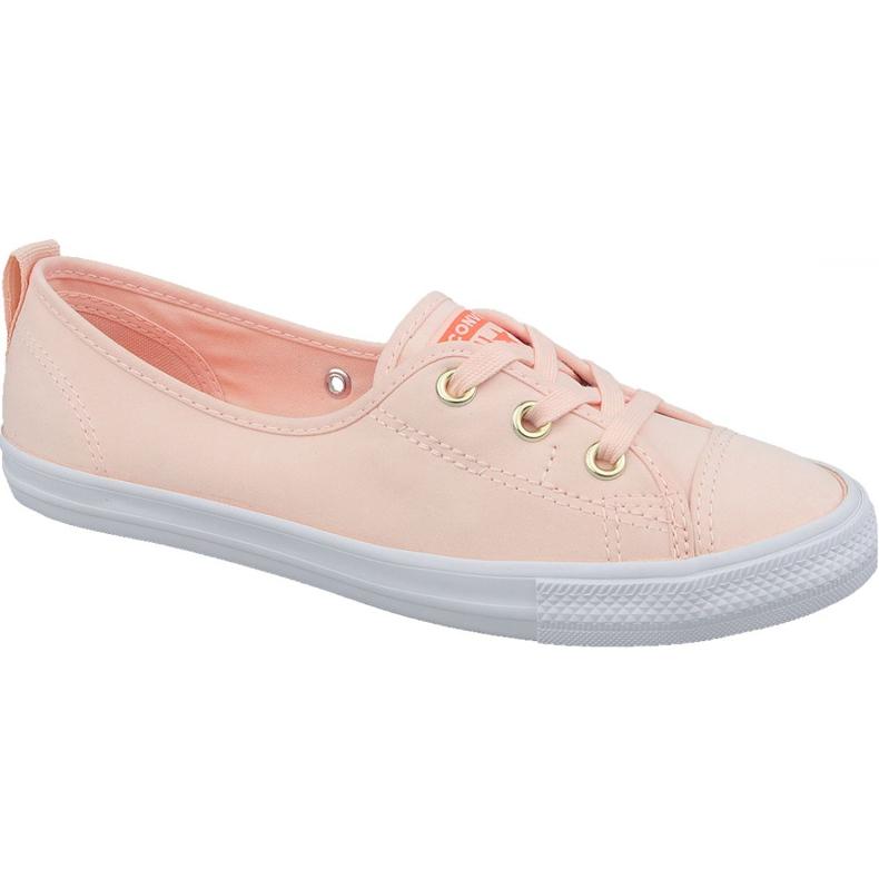 reputable site aeda2 a1da8 Converse Chuck Taylor All Star Ballerinas 564313C orange Schuhe