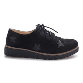 Schwarze Slipper in Big Stars