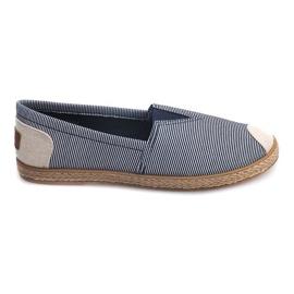 Sneakers Espadrilles Leinen 326 Blau
