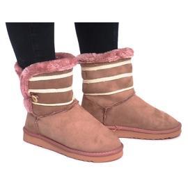 Czarne Eskimoski 89-67 Pink