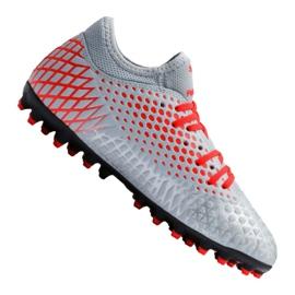 Fußballschuhe Puma Future 4.4 Mg Jr 105697-01 rot, grau / silber grau