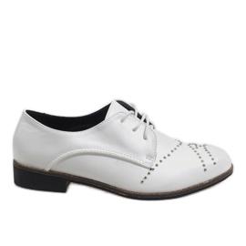 Weiße Schuhe Jazzówki Czwieki HH-82