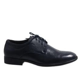 Dunkelblaue elegante Schuhe D181502B marine