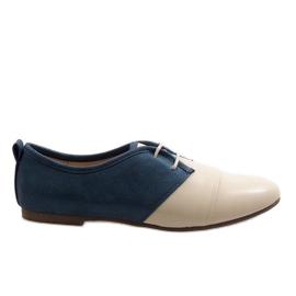 Beige Oxford zwei Oxford Schuhe