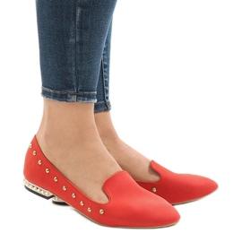 Rote Slipper für ZHC-980 Ballerinas