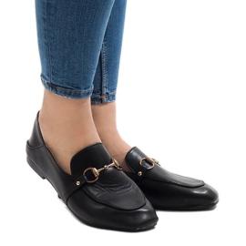 Schwarze Slipper für YJX001 Ballerinas