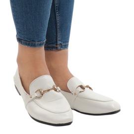 Weiße Slipper für die YJX001-9 Ballerinas