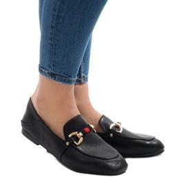 Schwarze Slipper für YJX005 Ballerinas