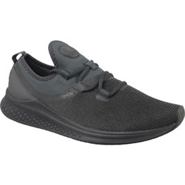 Schwarz Schuhe New Balance Fresh Foam Lazer Meliert M Mlazreb