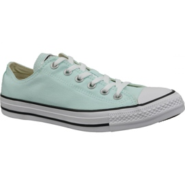 Blau Schuhe Converse C. Taylor All Star Ox Petrol / Tönung In 163357C