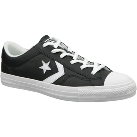 Schwarz Converse Star Player Ox 159780C Schuhe