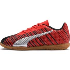 Fußballschuhe Puma One 5.4 It Jr 105664 03 rot schwarz, rot