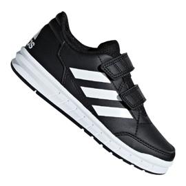 Schwarz Adidas AltaSport Cf Jr D96829 Schuhe
