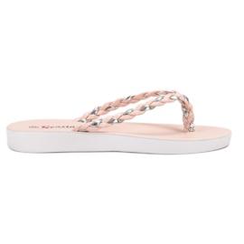 Seastar pink Rosa gewebte Flip-Flops