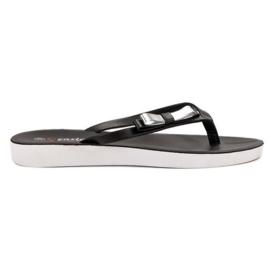 Seastar schwarz Flip-Flops Mit Schleife