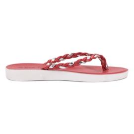 Seastar Rote gewebte Flip-Flops