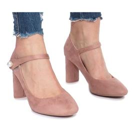 Pink Rosa Pumps auf Milayas Posten