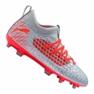 Fußballschuhe Puma Future 4.3 Netfit Fg / Ag Jr 105693-01 grau rot, grau / silber