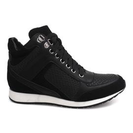 Sneakers Wedge 58804 Schwarz