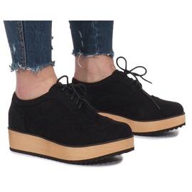 Schwarze Schuhe Auf Danielle Plattform