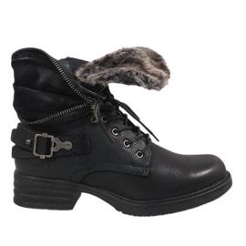 Schwarze isolierte Stiefel JA3203