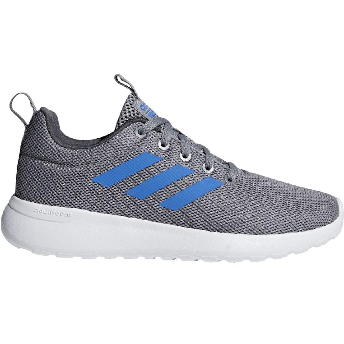 Schuhe für adidas Lite Racer K grau blau Jr F35440