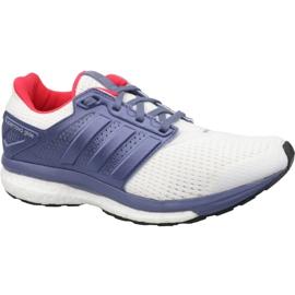 Weiß Schuhe adidas Supernova Glide 8 W S80277