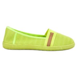 SHELOVET gelb Neon Slipony