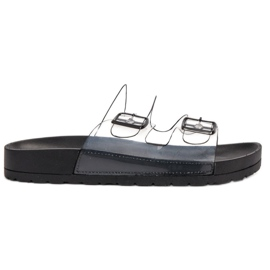 Ideal Shoes schwarz