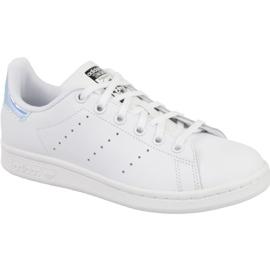 Weiß Adidas Stan Smith Jr AQ6272 Schuhe