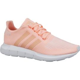Pink Adidas Swift Run Jr CG6910 Schuhe