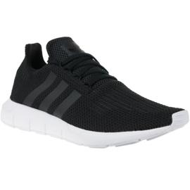 Schwarz Adidas Swift Run M B37726 Schuhe