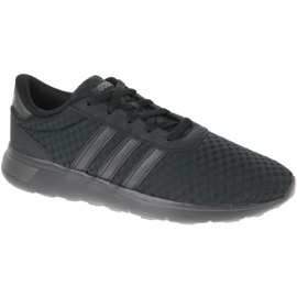 Schwarz Adidas Lite Racer M DB0646 Schuhe