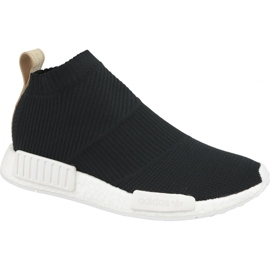 Schwarz Adidas Nmd CS1 Pk M AQ0948 Schuhe