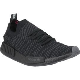 Schwarz Adidas NMD_R1 Stlt Pk M CQ2391 Schuhe