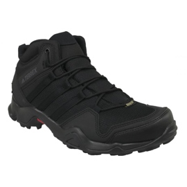 Schwarz Adidas Terrex AX2R Mid GTX M CM7697 Schuhe