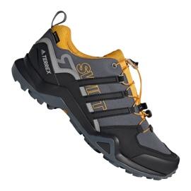 Grau Adidas Terrex Swift R2 GTX M G26555 Schuhe