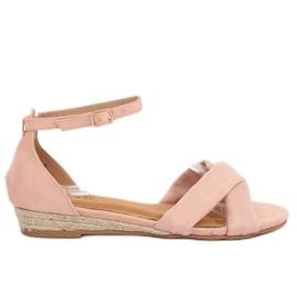 Sandalen Espadrilles Pink 9R121 Pink