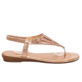 Pink Flip-Flops, rosa M03 Champagner
