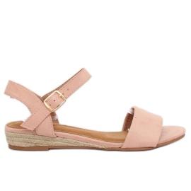 Sandalen Espadrilles Pink 9R73 Pink