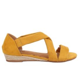 Sandalen Espadrilles gelb 9R72 Gelb